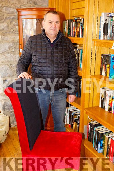 Eugene Glover of Revamp Furniture and Upholstery restoration in Castleisland.