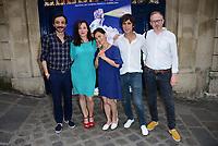 Champs Elysees Film Festival 2017<br /> Benoit Forgeard, Laure Calamy, Kaori Kinoshita, Arnaud Fleurent-Didier, Alain Della Negra