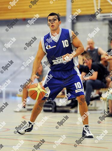 2011-08-20 / Basketbal / seizoen 2011-2012 / Bornem Basket / DAVE VAN DEN BRANDE..Foto: Mpics