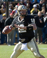 28 October 2006: Purdue quarterback Curtis Painter (12)..The Penn State Nittany Lions defeated the Purdue Boilermakers 12-0 on October 28, 2006 at Ross-Ade Stadium, West Lafayette, Indiana.