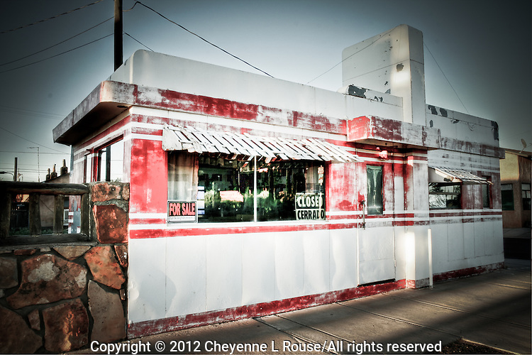 Old Valentine Diner - Route 66 - Winslow - Arizona