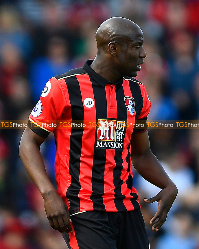 Benik Afobe of AFC Bournemouth during AFC Bournemouth vs Middlesbrough, Premier League Football at the Vitality Stadium on 22nd April 2017