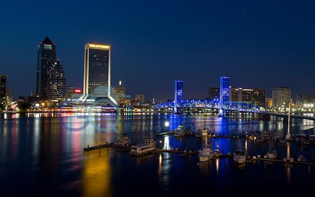 Jacksonville at Night