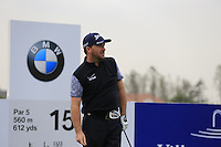 Graeme McDowell (NIR) tees off the 15th tee during Wednesday's Pro-Am Day of the 2014 BMW Masters held at Lake Malaren, Shanghai, China 29th October 2014.<br /> Picture: Eoin Clarke www.golffile.ie