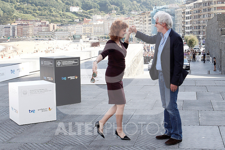 Richard Gere and Susan Sarandon attend the photocall for 'The Holes' during the 60th San Sebastian Donostia International Film Festival - Zinemaldia.September 20,2012.(ALTERPHOTOS/ALFAQUI/Acero)