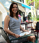 "COCONUT GROVE, FL - MARCH 30: Cecilia Peck attend the Women's International Film Festival 2014 - Brunch and the screening of ""Brave Miss World"" also received the awards for the best films of the festival on March 30, 2014 in Coconut Grove, Florida. (Photo by Johnny Louis/jlnphotography.com)"