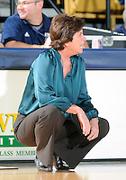 Florida International University Head Coach Cindy Russo during the game against Florida Atlantic University which won the game 50-49 on January 21, 2012 at Miami, Florida. .