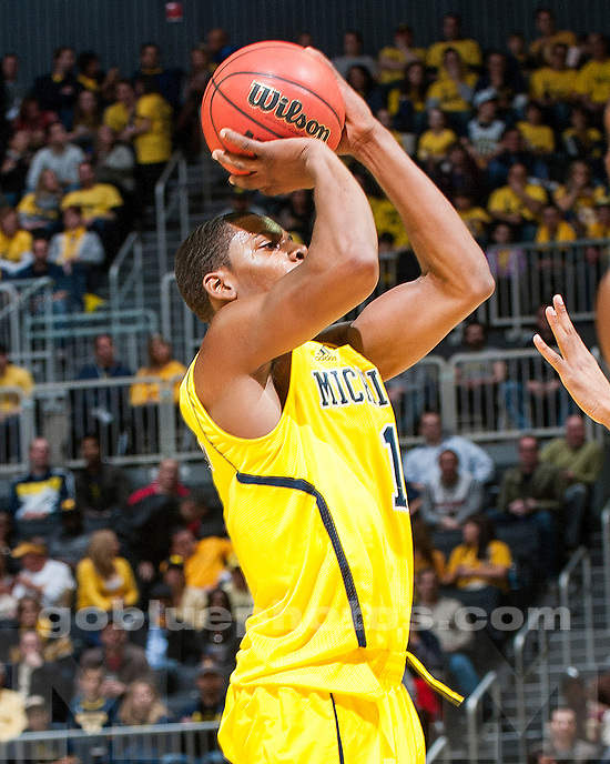 The University of Michigan men's basketball team beat West Viginia, 81-66, in the Brooklyn Winter Hoops Festival at Barclays Center in New York. N.Y., on December 15, 2012.