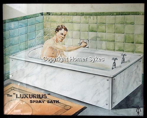 The Luxurius Spray Bath. 1934