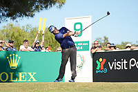 George Coetzee (RSA) during Round 1 of the Portugal Masters, Dom Pedro Victoria Golf Course, Vilamoura, Vilamoura, Portugal, 24/10/2019<br /> Picture Andy Crook / Golffile.ie<br /> <br /> All photo usage must carry mandatory copyright credit (© Golffile | Andy Crook)