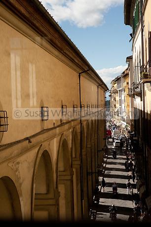 Florence, Italy The Vasari Corridor, Florence
