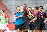 Stephan LICHTSTEINER l. (A) mit Felix UDUOKHAI (A) nach dem SPiel, <br /><br />Fussball 1. Bundesliga, 33.Spieltag, Fortuna Duesseldorf (D) -  FC Augsburg (A), am 20.06.2020 in Duesseldorf/ Deutschland. <br /><br />Foto: AnkeWaelischmiller/Sven Simon/ Pool/ via Meuter/Nordphoto<br /><br /># Editorial use only #<br /># DFL regulations prohibit any use of photographs as image sequences and/or quasi-video #<br /># National and international news- agencies out #