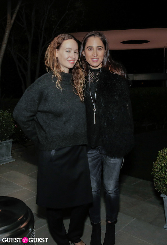 Jenni Kayne and April Garguilo attend the CAP Beauty + Jenni Kayne Dinner on Nov. 5, 2015 (Photo by Inae Bloom/Guest of a Guest)
