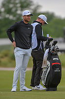 Lucas Bjerregaard (DEN) looks over his approach shot on 1 during round 2 of the AT&T Byron Nelson, Trinity Forest Golf Club, Dallas, Texas, USA. 5/10/2019.<br /> Picture: Golffile | Ken Murray<br /> <br /> <br /> All photo usage must carry mandatory copyright credit (© Golffile | Ken Murray)