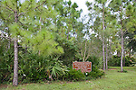 Manatee Park offers interpretive nature trails through pine flatwoods habitat..