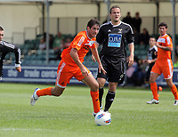 Pictured: Danny Graham of Swansea (L). Saturday 17 July 2011<br />
