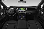 Stock photo of straight dashboard view of a 2016 Rollsroyce ghostsd1ra Base 4 Door Sedan
