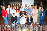 Hannah Reidy from Killeen Heights celebrating her 1st Holy Communion in The Ashe Hotel on Saturday night with her family.
