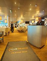 CT-Club Orange Dining Room aboard HAL Koningsdam S. Caribbean Cruise, Caribbean Sea 3 19