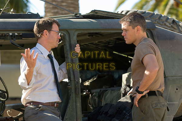 GREG KINNEAR & MATT DAMON.in Green Zone.*Filmstill - Editorial Use Only*.CAP/FB.Supplied by Capital Pictures.