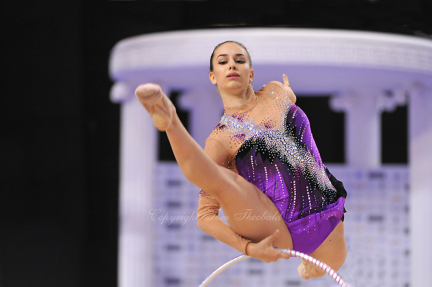 September 23, 2014 - Izmir, Turkey -  ALEXANDRA PISCUPESCU of Romania performs at 2014 World Championships.