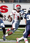 October 22, 2011:   Fresno State Bulldog Isaiah Burse returns a kick in the first half against the Nevada Wolf Pack during a WAC league game played at Mackay Stadium in Reno, Nevada.