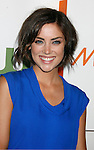 "LOS ANGELES, CA. - August 22: Jessica Stroup arrives at the ""Melrose Place"" Los Angeles Premiere Party on August 22, 2009 in Los Angeles, California."