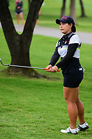 Moriya Jutanugarn (THA) watches her chip on to 2 during round 3 of  the Volunteers of America Texas Shootout Presented by JTBC, at the Las Colinas Country Club in Irving, Texas, USA. 4/29/2017.<br /> Picture: Golffile | Ken Murray<br /> <br /> <br /> All photo usage must carry mandatory copyright credit (&copy; Golffile | Ken Murray)