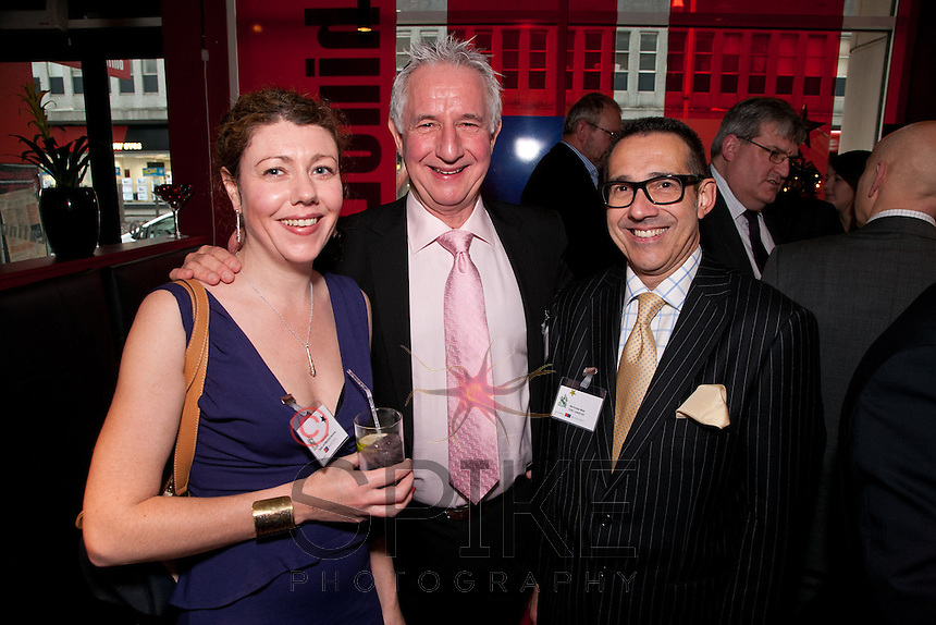 Pictured from left are Finola Brady of Brady Architectural Services, Parry Leggett of Cockburn Lucas and Nic Mac of CHC-Land