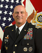 General Raymond T. Odierno, assumed duty as the 38th Chief of Staff of the U.S. Army on Sept. 7, 2011.  A native of northern New Jersey, General Odierno attended the United States Military Academy at West Point, graduating in 1976 with a commission in Field Artillery. During more than 35 years of service, he has commanded units at every echelon, from platoon to theater, with duty in Germany, Albania, Kuwait, Iraq, and the United States. After his first assignment with U.S. Army Europe, General Odierno was assigned to the XVIII Airborne Corps Artillery at Fort Bragg, N.C., where he commanded two batteries and served as a battalion operations officer.  General Odierno returned to U.S. Army Europe serving as a battalion executive officer and division artillery executive officer including deployment for Operations DESERT SHIELD and DESERT STORM. He later commanded 2nd Battalion, 8th Field Artillery, 7th Infantry Division, and the Division Artillery, 1st Cavalry Division.  From October 2001 to June 2004, General Odierno commanded the 4th Infantry Division, leading the division during Operation IRAQI FREEDOM from April 2003 to March 2004. From December 2006 to February 2008, he served as the Commanding General, Multi-National Corps – Iraq (III Corps) as the operational commander of the surge of forces. Later, he served as the Commanding General, Multi- National Force - Iraq and subsequently United States Forces - Iraq, from September 2008 until September 2010. Most recently he commanded United States Joint Forces Command (USJFCOM)..Manadatory Credit: Monica A. King / DoD via CNP