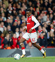 Edward 'Eddie'  Nketiah of Arsenal during the Carabao Cup match between Arsenal and Norwich City at the Emirates Stadium, London, England on 24 October 2017. Photo by Carlton Myrie.