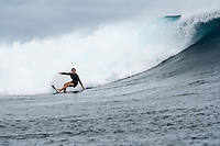 Namotu Island Resort, Nadi, Fiji (Monday, May 22 2017):Coco Ho (HAW) - The wind  this morning was light from the South South East with high tide around 3.30pm.  The swell had jumped overnight and continued to build through the day. Cloudbreak had 10' plus faces and was barreling through the inside ,especially around the 9.30 low tide. A big group of pro surfers, both male and female, were surfing Cloudbreak in preparation for the OK Fiji Pro which begins on Saturday. Guests surfed Cloudbreak and Lefts.   The fishing crew returned with a catch of Ruby Snapper. Photo: joliphotos.com