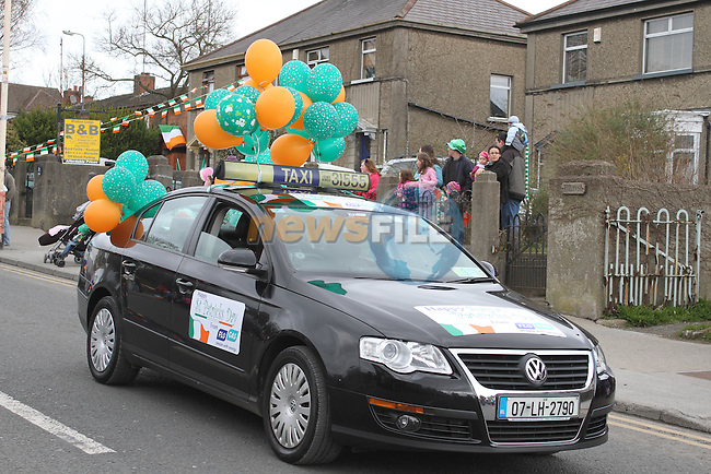 Flo Gas at the 2011 St.Patrick's Day Parade in Drogheda...(Photo credit should read Jenny Matthews/www.newsfile.ie)....This Picture has been sent you under the conditions enclosed by:.Newsfile Ltd..The Studio,.Millmount Abbey,.Drogheda,.Co Meath..Ireland..Tel: +353(0)41-9871240.Fax: +353(0)41-9871260.GSM: +353(0)86-2500958.email: pictures@newsfile.ie.www.newsfile.ie.