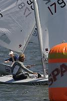 20th SPA Regatta - Medemblik.26-30 May 2004..Copyright free image for editorial use. Please credit Peter Bentley..Eduardo van Vianen - NED