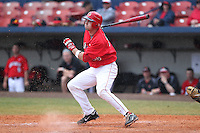 Illinois State Redbirds Eric Aguilera #33 during a game against the Iowa Hawkeyes at Chain of Lakes Stadium on March 11, 2012 in Winter Haven, Florida.  Illinois State defeated Iowa 10-6.  (Mike Janes/Four Seam Images)
