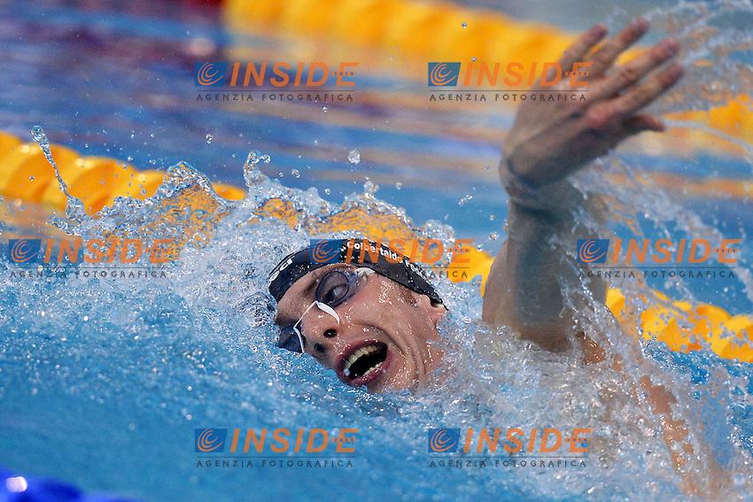Federico Colbertaldo Italy men's 1500m freestyle.Debrecen 22/5/2012 .31st European Swimming Championships - Nuoto.Foto Insidefoto / Andrea Staccioli
