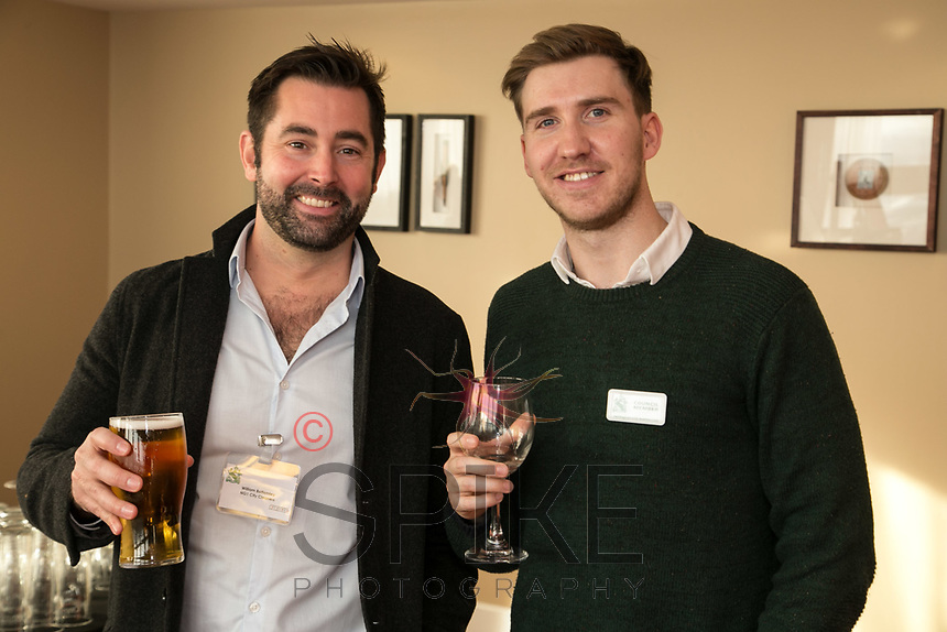 William Bottomley (left) of NG1 Cleaners and Ross Davies of Strafe Creative