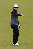 Emily Toy (ENG) on the 2nd fairway during Matchplay Semi-Finals of the Women's Amateur Championship at Royal County Down Golf Club in Newcastle Co. Down on Saturday 15th June 2019.<br /> Picture:  Thos Caffrey / www.golffile.ie