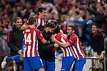 Antoine Griezmann of Atletico de Madrid celebrates with teammates after scoring during their 2016-17 UEFA Champions League match between Atletico Madrid and FC Rostov at the Vicente Calderon Stadium on 01 November 2016 in Madrid, Spain. Photo by Diego Gonzalez Souto / Power Sport Images