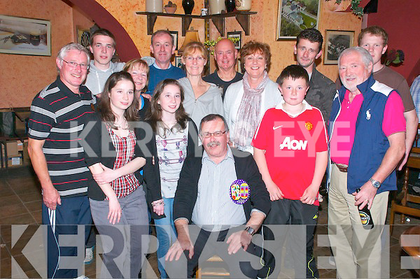 60th Birthday : Steve Royston, Gortnaminch, Listowel  celebrating his 60th birthday with family & friends at McCarthy's Bar Finuge on Saturday night last.