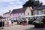 AMFY39 Halesworth market Suffolk England