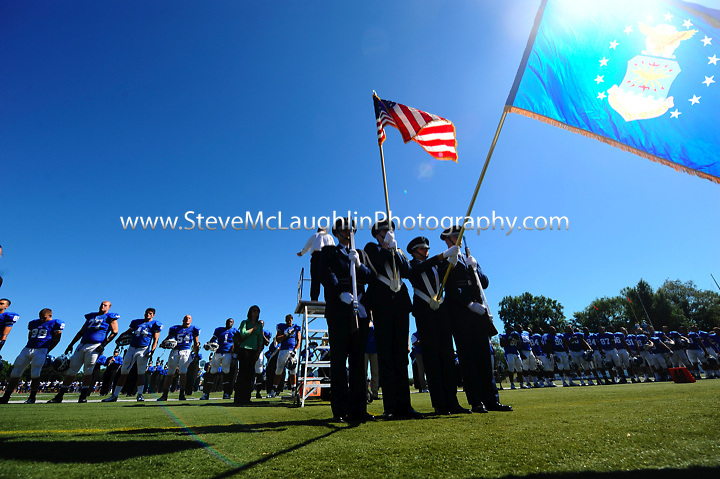 CCSU Football vs. Bently - 9/11/2010