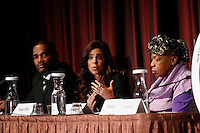 "Journalist Soledad O'Brien takes part in the ""Impact of Police Brutality"" panel during the 2015 NAN Convention in New York City. 04.08.2015. Kena Betancur/VIEWpress."