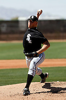 Adam Russell -  Chicago White Sox - 2009 spring training.Photo by:  Bill Mitchell/Four Seam Images