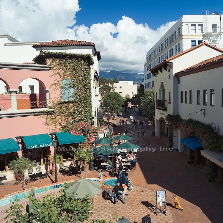 Paseo Nuevo Mall Santa Barbara