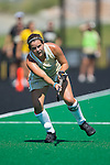 Heather Wiley (16) of the Wake Forest Demon Deacons passes the ball during first half action against the Michigan Wolverines at Kentner Stadium on August 28, 2016 in Winston-Salem, North Carolina.  The Demon Deacons defeated the Wolverines 2-0.  (Brian Westerholt/Sports On Film)
