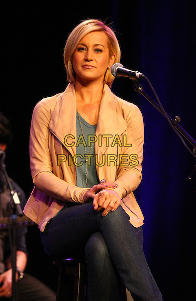03 April 2014 - Las Vegas, Nevada -  Kellie Pickler. 95.5 The Bull&rsquo;s 6th Annual All-Star Guitar Pull at the Red Rock Ballroom inside Red Rock Resort.  <br /> CAP/ADM/MJT<br /> &copy; MJT/AdMedia/Capital Pictures