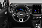 Car pictures of steering wheel view of a 2020 Renault ZOE Edition-One 5 Door Hatchback Steering Wheel