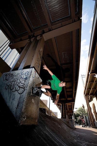 Steven Rodriguez, owner 5Boro Skateboards.