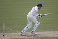 Keaton Jennings of Lancashire CCC runs the ball to fine leg during Middlesex CCC vs Lancashire CCC, Specsavers County Championship Division 2 Cricket at Lord's Cricket Ground on 12th April 2019
